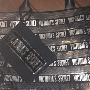 Victoria Secret Sequin Large Tote